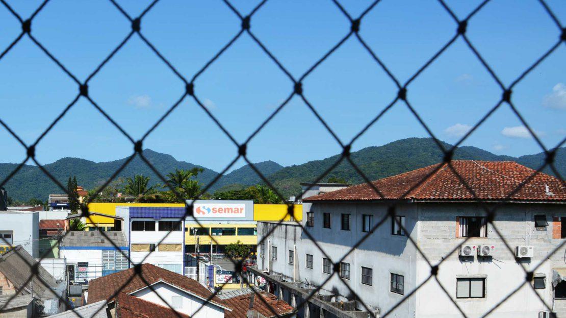 Apartamento no centro de Ubatuba para vender - Foto da Janela - SEMAR