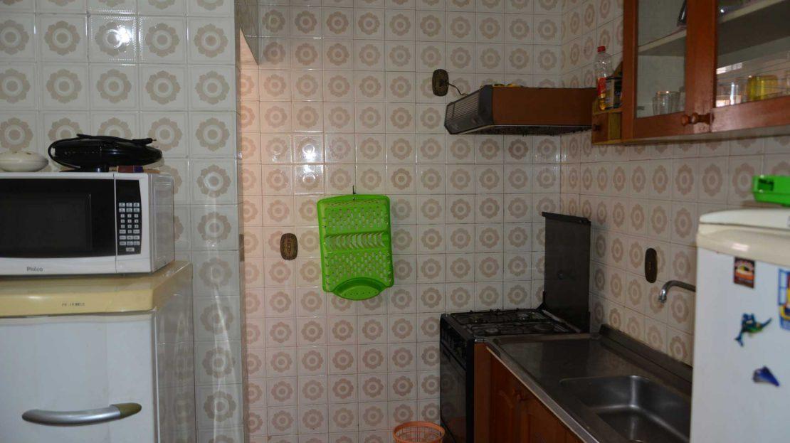 Apartamento no centro de Ubatuba para vender - cozinha