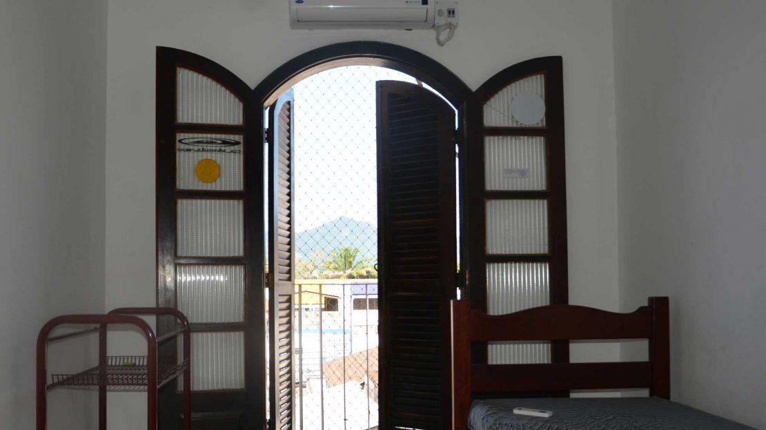 Apartamento no centro de Ubatuba para vender - Foto do Quarto