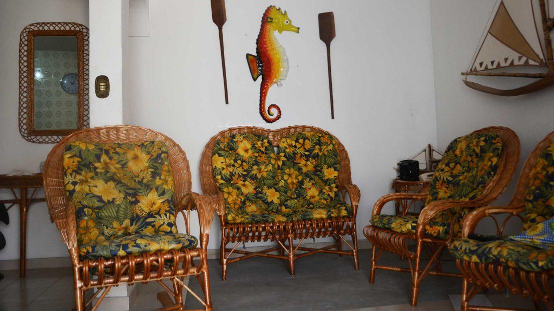 Apartamento no centro de Ubatuba para vender - Foto da Sala