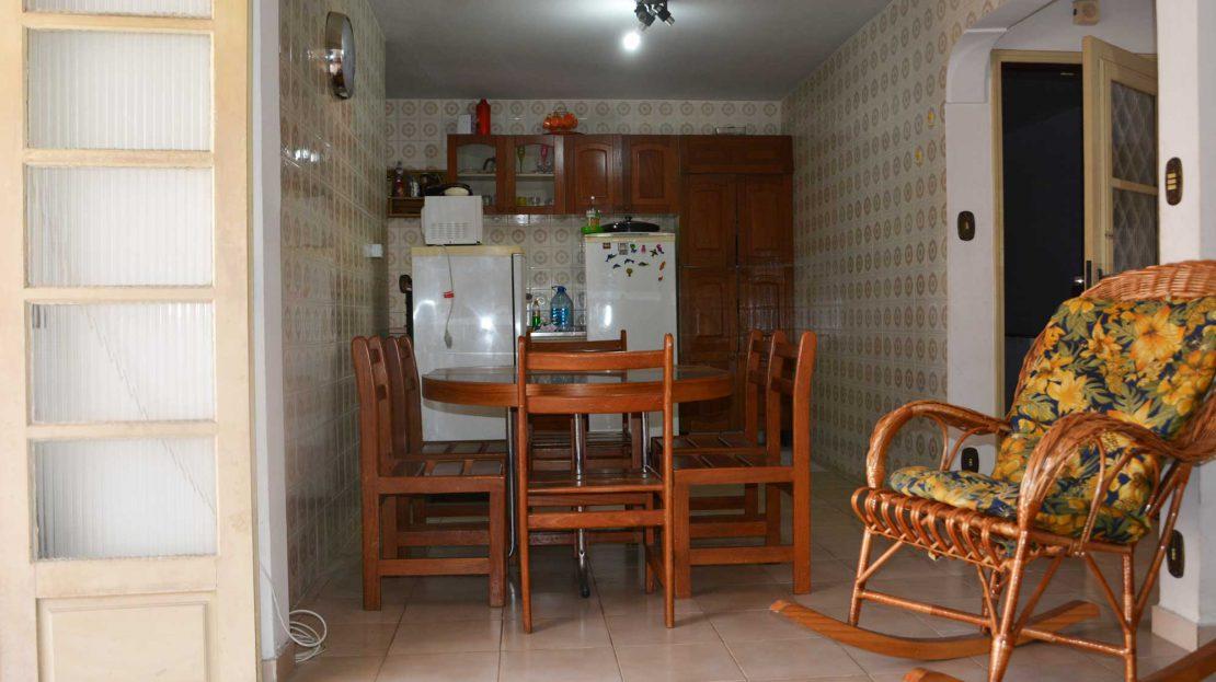 Apartamento no centro de Ubatuba para vender - Foto da Sala_Jantar