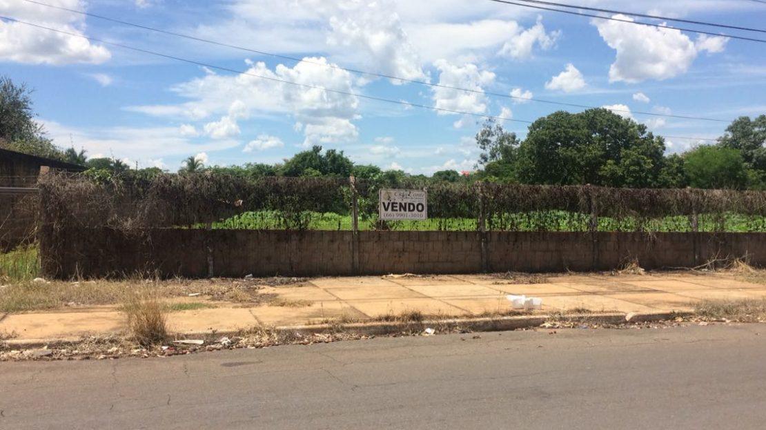 Lote em Rondonopolis para vender