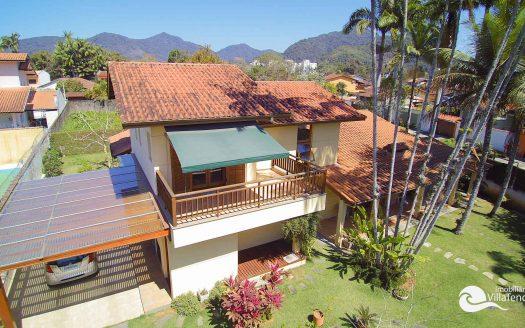 Casa a venda no Parque Viva Mar em Ubatuba, SP - Varanda_vista_drone