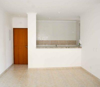 Apartamento para vender Ubatuba - Cozinha com acesso a sala