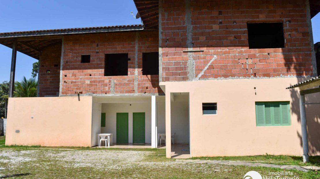 Projeto inacabado de Pousada na Praia do Lazaro em Ubatuba