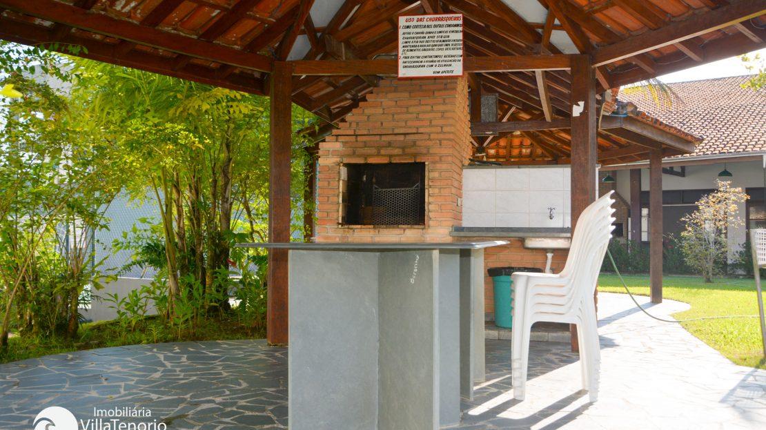churrasqueira- Apartamento em Ubatuba para vender