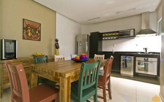 Casa Praia Enseada, Ubatuba, 3 quartos - condominio fechado