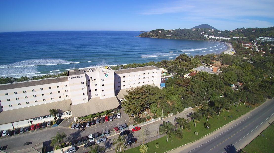 apartamento em Ubatuba para vender - Fachada frente_mar