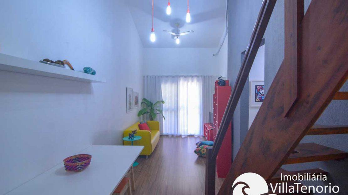 Apartamento-Ubatuba-Itagua-sala-venda