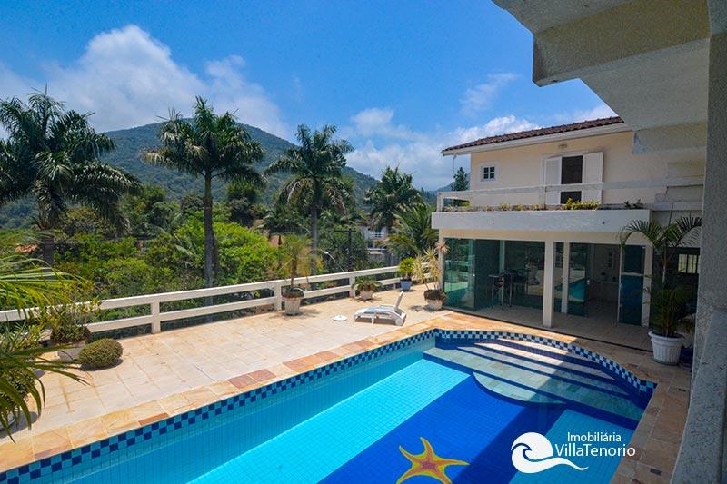 Casa Condominio Fechado Ubatuba_piscina