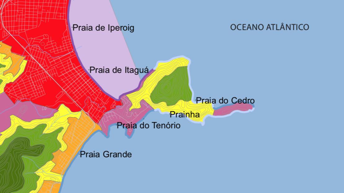 Área para vender em Ubatuba Ponta Grossa