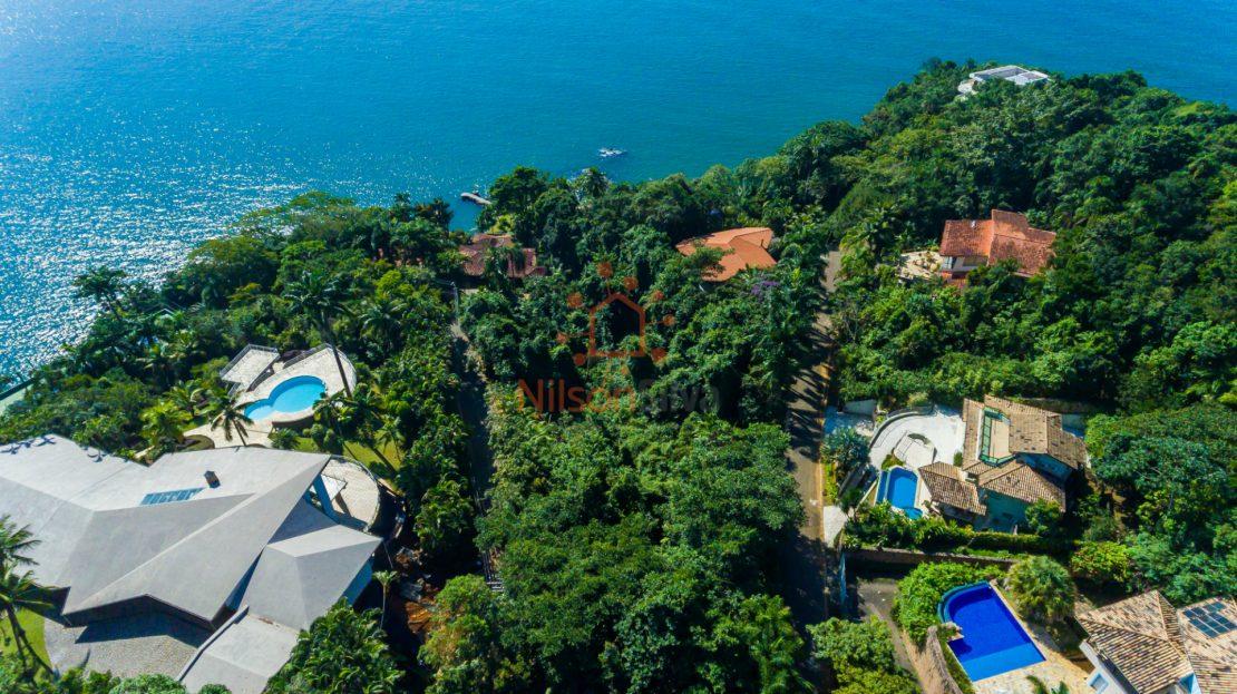 terreno luxo venda condominio ponta das toninhas em ubatuba