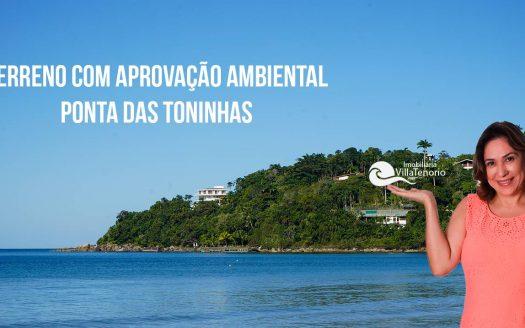Terreno Ponta das Toninhas Ubatuba