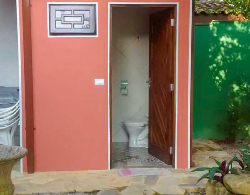 Casa mobiliada à venda na Praia de itamambuca