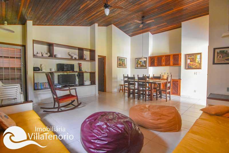 Casa para vender na Praia do Tenório em Ubatuba-SP