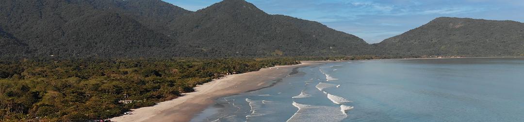 Terreno a venda na praia do Ubatumirim em Ubatuba