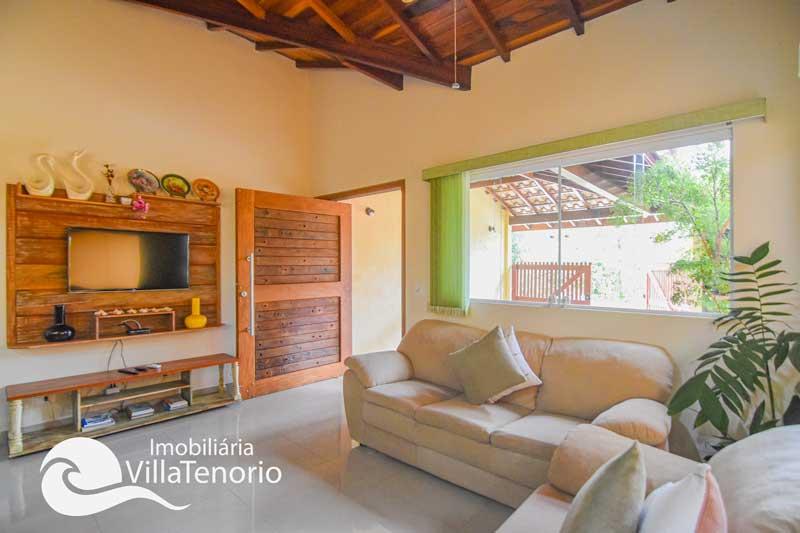 Casa nova para vender na Praia da Lagoinha em Ubatuba-SP